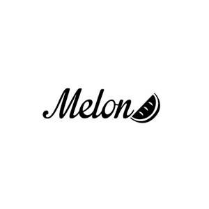 melon logo black white rvb