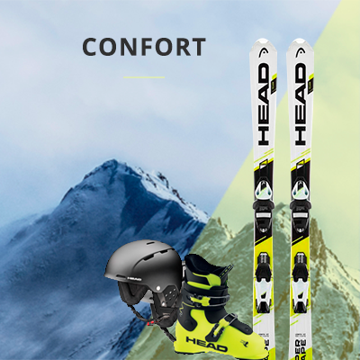 PACK CONFORT RENT SKI SHOOES HEAD 16€